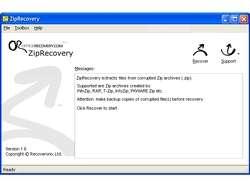 ZipRecovery Screenshot