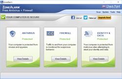 ZoneAlarm Antivirus Screenshot