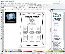 Zoner Draw Screenshot