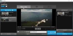 Screenshot of GoPro CineForm Studio 2.5, a photo adjusting app for the Windows operating system.