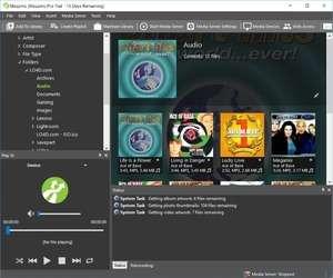 Screenshot of Mezzmo 5.2, a dlna serving app for the Windows operating system.
