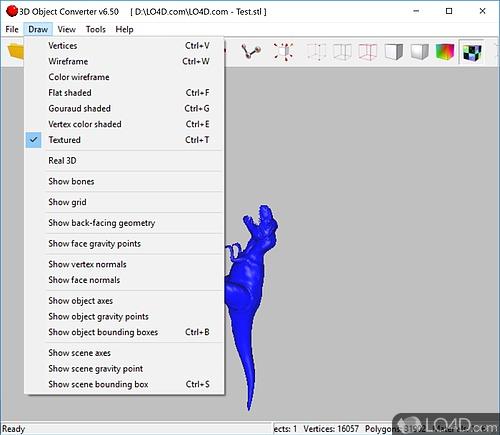 3D Object Converter - Screenshot 2