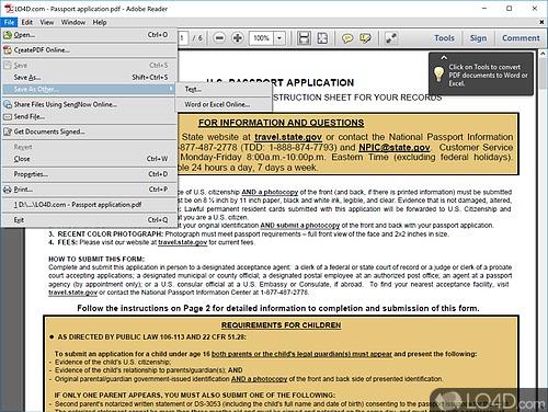 Adobe Reader XI - Screenshot 2