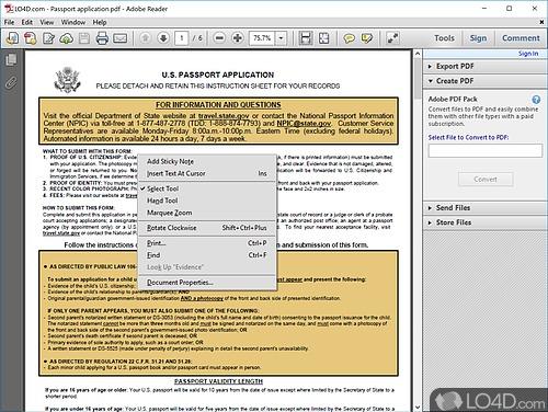 Adobe Reader XI - Screenshot 5
