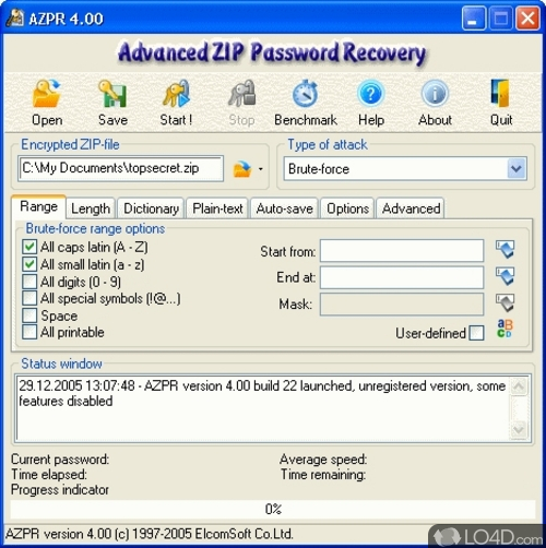 Advanced Archive Password Recovery - Download