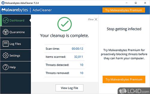 AdwCleaner - Screenshot 4