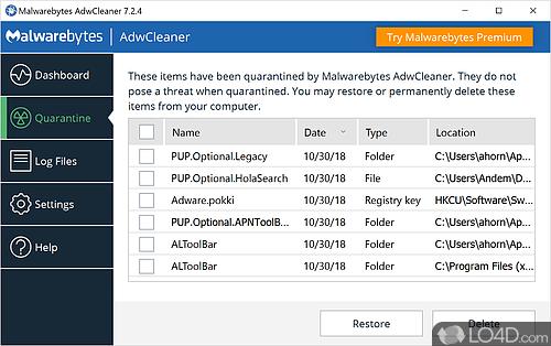 AdwCleaner - Screenshot 5
