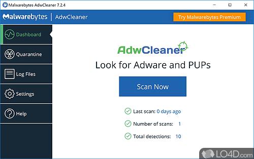 AdwCleaner - Screenshot 1
