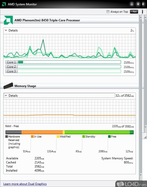 AMD System Monitor - Download