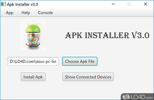 Android Package Installer Screenshots