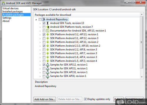 Android SDK Tools - Download