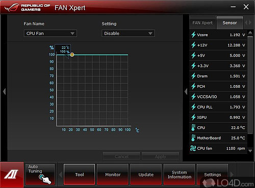 ASUS Fan Xpert - Download