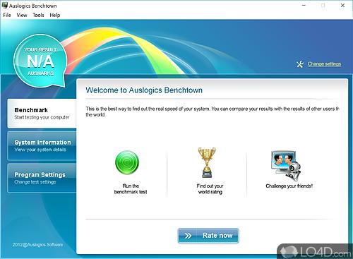 Auslogics Benchtown - Download