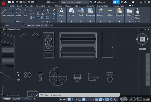 AutoCAD - Screenshot 1