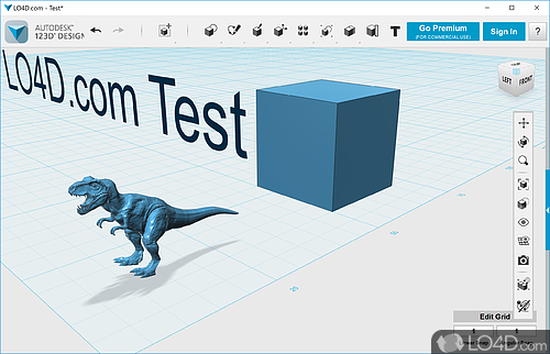 Autodesk 123D Design - Screenshot 1