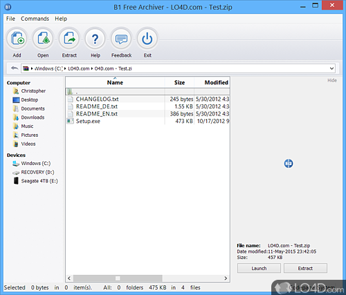 B1 Free Archiver - Download