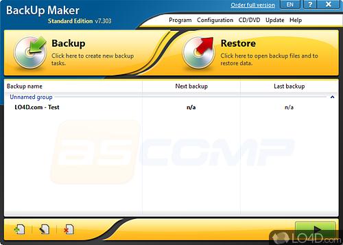 BackUp Maker Standard - Download