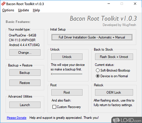 Bacon Root Toolkit - Download