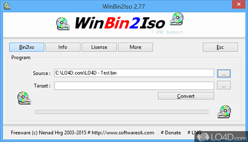 WinBin2Iso - Download
