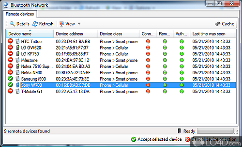 Bluetooth File Transfer (PC) - Screenshot 4
