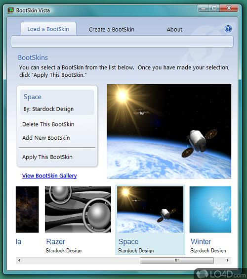 BootSkin - Screenshot 1