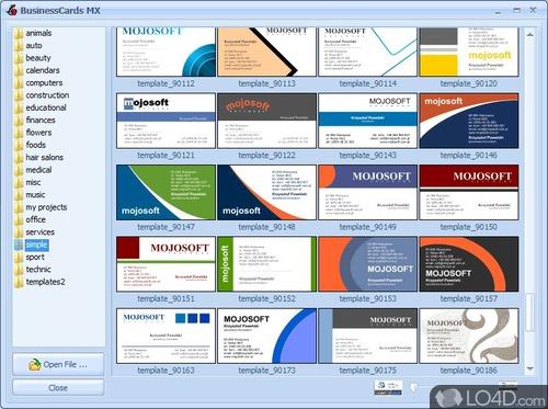 BusinessCards MX - Screenshot 5