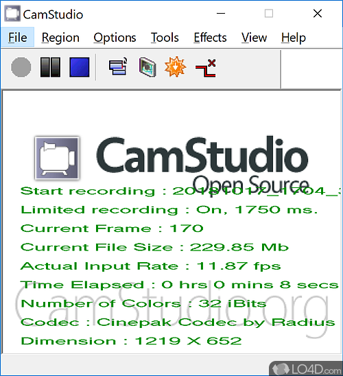 CAMSTUDIO GRATUIT WINDOWS VISTA TÉLÉCHARGER