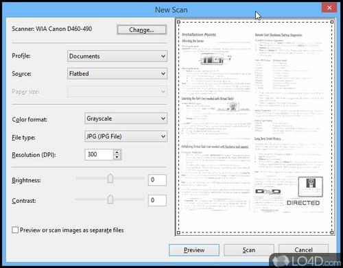 Canon MF Toolbox - Screenshot 2