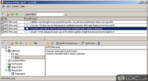 Clipboard Help and Spell - Screenshot 2