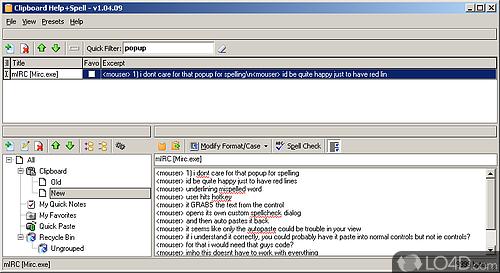 Clipboard Help and Spell - Screenshot 4