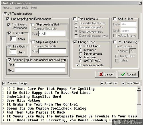 Clipboard Help and Spell - Screenshot 6