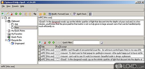 Clipboard Help and Spell - Screenshot 1