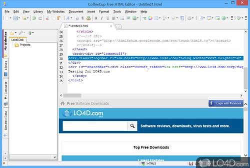 CoffeeCup Free HTML Editor - Download