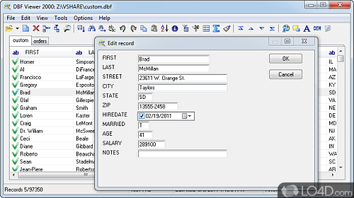 DBF Viewer 2000 - Download