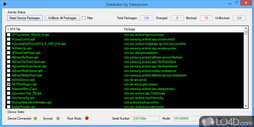 Debloater - Screenshot 1