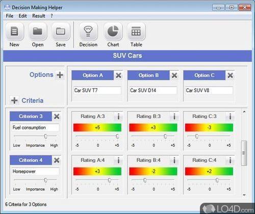 Decision Making Helper - Screenshot 1
