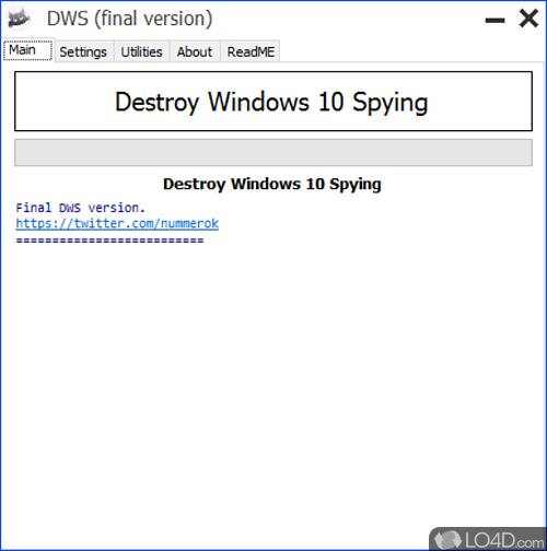 Destroy Windows 10 Spying - Download