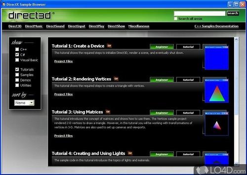 DirectX 9 SDK - Screenshot 3