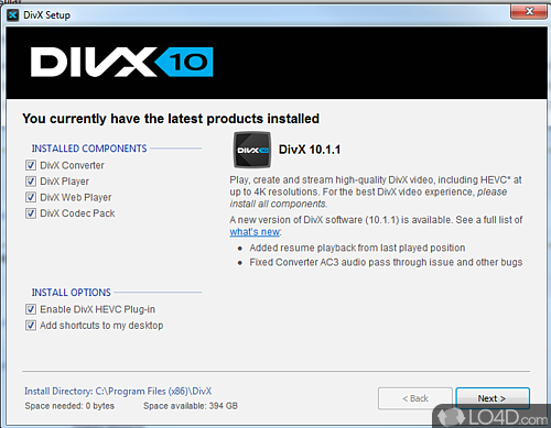 DivX Codec - Download