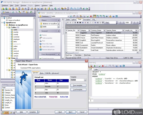 EMS SQL Manager for MySQL - Download