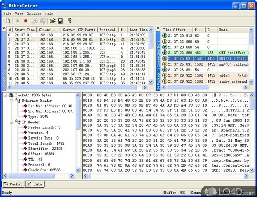 EtherDetect Packet Sniffer - Download