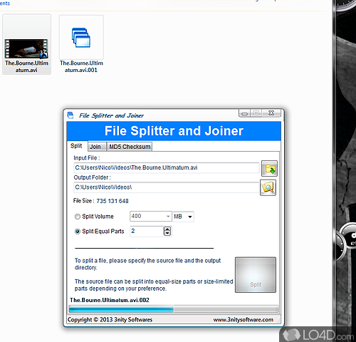 File Splitter and Joiner - Download
