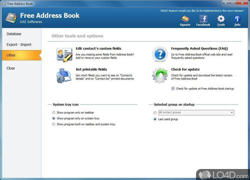Free Address Book - Screenshot 6