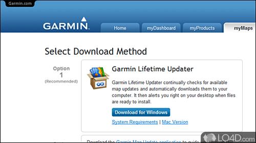 Garmin Lifetime Updater - Download on hp download, acer download, asus download, apple download,