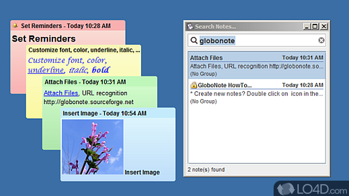 GloboNote - Screenshot 1