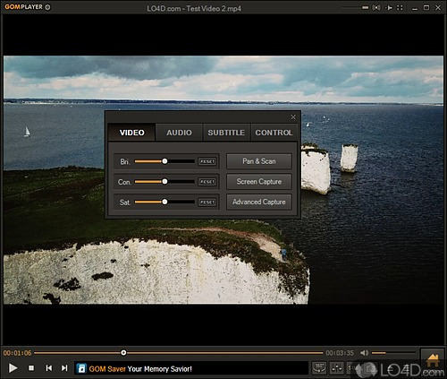 GOM Player - Screenshot 3