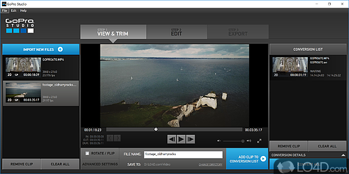 GoPro CineForm Studio - Screenshot 1