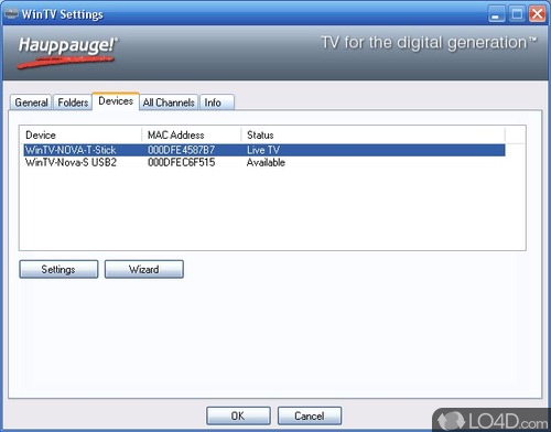 Hauppauge WinTV - Download