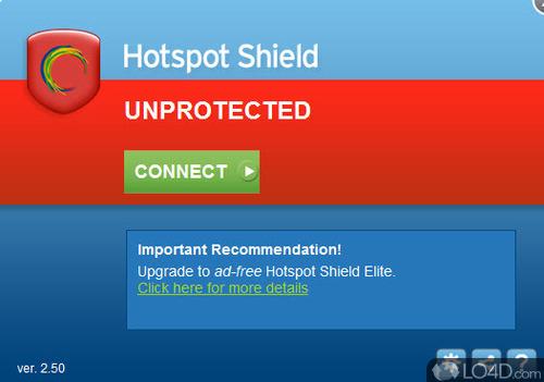 Hotspot Shield - Screenshot 3
