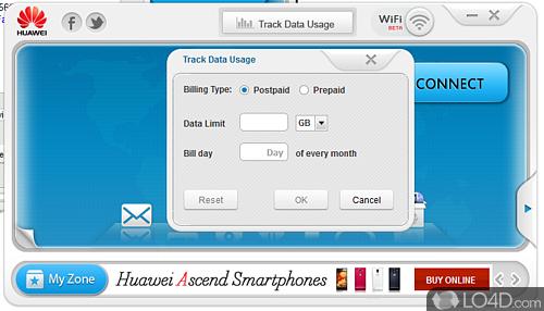Huawei Mobile Partner - Screenshot 4